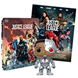 Justice League 2 Steelbook Esclusiva AMAZON (Blu-Ray) + Poster + Funko Cyborg