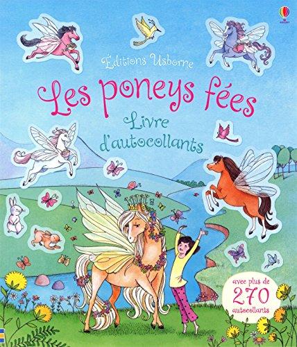 Les poneys fes - Livre d'autocollants