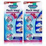 Dr. Beckmann Push & Wipe Fleck weg 3x4 ml - Handlicher Fleckentferner (2er Pack)
