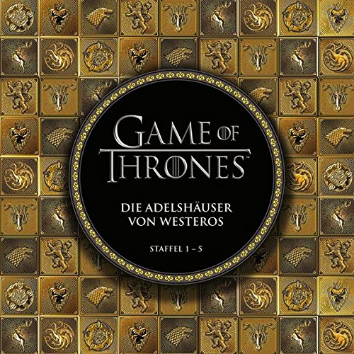 game of thrones staffel buecher Game of Thrones: Die Adelshäuser von Westeros: Staffel 1 - 5