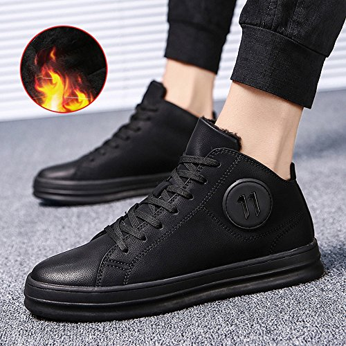 FEIFEI Scarpe da uomo antiscivolo Fashion Keep Warm Cotton Shoes 2 Colors ( Colore : 01 , dimensioni : EU42/UK8.5/CN43 ) 01