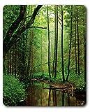 1art1 89688 Wälder - Ein Stiller Bach Fließt Durch Den Wald Mauspad 23 x 19 cm