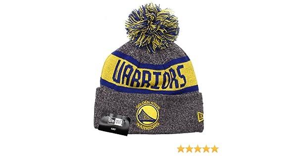 Golden State Warriors New Era Kids NBA Marl Knit Bobble Hat (Age 5 - 10  Years)  Amazon.it  Sport e tempo libero cdb7c34b1003