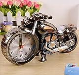 BBC Weihnachtsgeschenke im Europäischen Stil white mini alarm Uhren Schmuck Schmuck, motorisierte golden Schwarzweiß