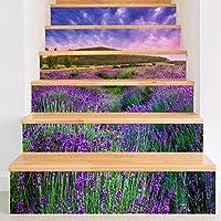 Frolahouse 3D Schöne Lavendel Diy Wasserdichte Treppen Aufkleber, Fliesen  Schlafzimmer Wohnzimmer Home Kreative Dekorative Wandaufkleber