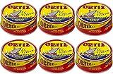 Conservas Ortiz Bonito del Norte weißer Thunfisch in Olivenöl 250 gr. - [Pack 6]