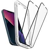 Spigen AlignMaster Screenprotector compatibel met iPhone 13, iPhone 13 Pro, 2 Stuks, Frame voor eenvoudige installatie, Volle