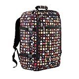 Cabin Max Backpack Flight Approved Carry On Bag Massive 44 litre Travel Hand Luggage 55x40x20 cm (Emoji)