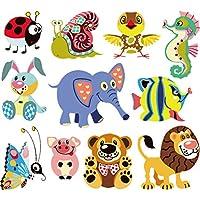 Forest Animals - Parche adhesivo para transferencia de calor, diseño de dibujos animados