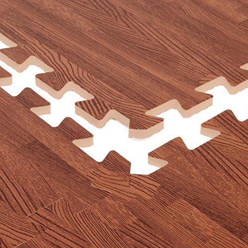 Zoom IMG-2 tappeto effetto legno in schiuma