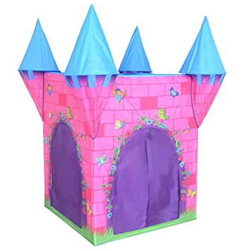 Charles Bentley Deluxe Childrenu0027s Pink Princess Castle Play Tent Garden Playhouse Indoor Outdoor Use Amazon.co.uk Toys u0026 Games  sc 1 st  Amazon UK & Charles Bentley Deluxe Childrenu0027s Pink Princess Castle Play Tent ...