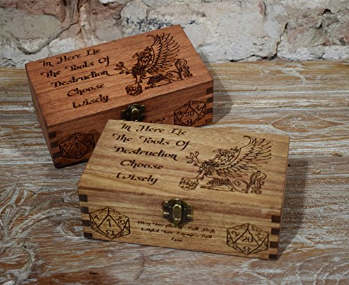 wooden-engraved-griffin-dice-box-choose-carefully-dice-dungeons-and-dragons-pathfinder-rpg-games-tab
