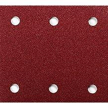 Makita P-33087 - Pack 10 Lijas Perforadas Con Velcro 115X102 Mm Para Bo4565-Bo4561 Grano 40