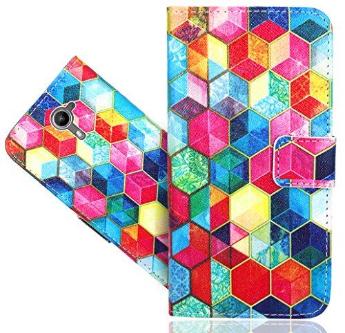 FoneExpert® Wiko U Feel Prime Handy Tasche, Wallet Case Flip Cover Hüllen Etui Hülle Ledertasche Lederhülle Schutzhülle Für Wiko U Feel Prime