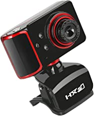 Segolike 16MP USB HD Webcam Camera Video w/ Built-in Microphone Mic for Laptop Computer PC