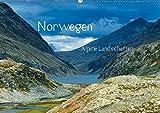 Norwegen - Alpine Landschaften (Wandkalender 2019 DIN A2 quer): Eine Reise durch die alpinen Landschaften Norwegens (Monatskalender, 14 Seiten ) (CALVENDO Natur) - Christian von Styp
