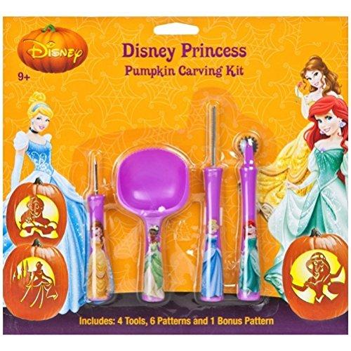 Disney Princess Prinzessin Kürbis Schnitzset Pumkin Carving (Disney Kürbis)