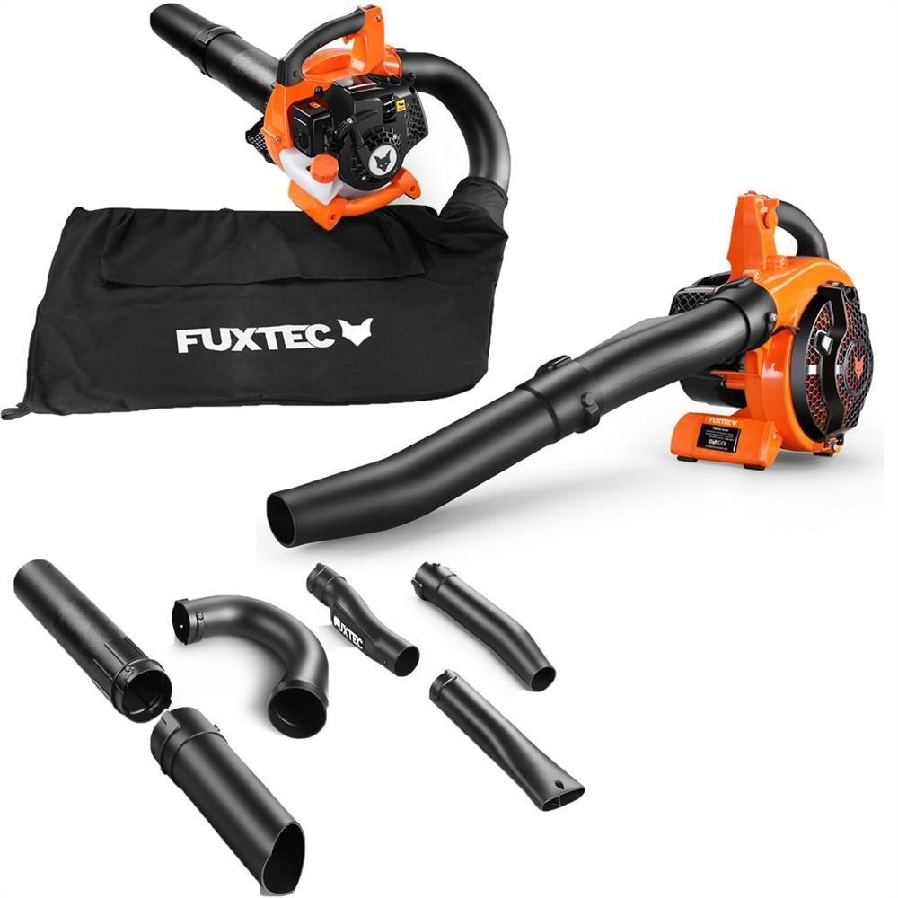 Fuxtec FX-LBS126 Benzin Laubsauger/Laubbläser/Häcksler, 4in1 Funktion