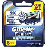 Gillette - Fusion ProGlide - Lames de Rasoir Pour Homme - 8 Recharges