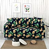 SFTT-JIAJU Copridivano Addensare Allungare slipcovers 1/2/3 posti Protezioni Multifunzione Couch Cover Caratterizzato Morbido Modulo Fit Slip Resistente Copertura della Sedia, 002, 1 Seater:90-140cm