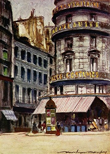 mortimer-menpes-paris-1909-la-samaritaine-artistica-di-stampa-6096-x-9144-cm