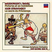 Mussorgsky:Pictures/Stravinsky [Import allemand]
