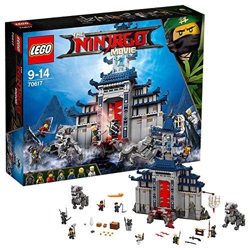 Preisvergleich Produktbild LEGO Ninjago 70617 - Ultimativ ultimatives Tempel-Versteck