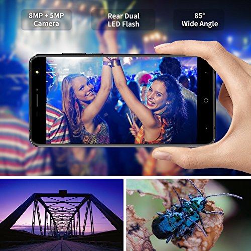 Smartphone Libre  DOOGEE X7S Tel  fonos M  viles Libres Baratos - Android 6 0 4G M  vil Libre - MTK6737 Quad Core 1 2GHz - 6 0 Pulgadas HD IPS Pantall