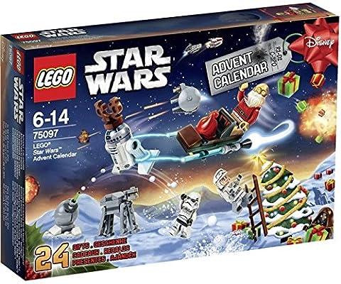 LEGO Star Wars Adventskalender 75097, Bau- und Konstruktionsspielzeug (Lego Star Wars A Wing)