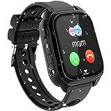 GPS étanche Smartwatch pour Enfants - IP67 résistant à l'eau Montre Phone avec Localisateur GPS Chat Vocal SOS Réveil Caméra