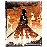Japanese Attack on Titan japanische Anime Mehrfarbig Portemonnaie Geldbörse