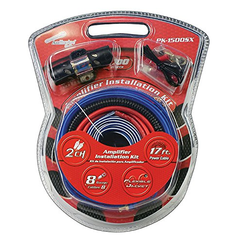 Audiopipe AMP Wiring KIT 8 GA.for Systems UP to 1500WATTS