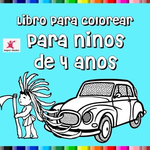Libro para colorear para niños de 4 años