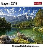 Bayern - Kalender 2018: Sehnsuchtskalender, 53 Postkarten