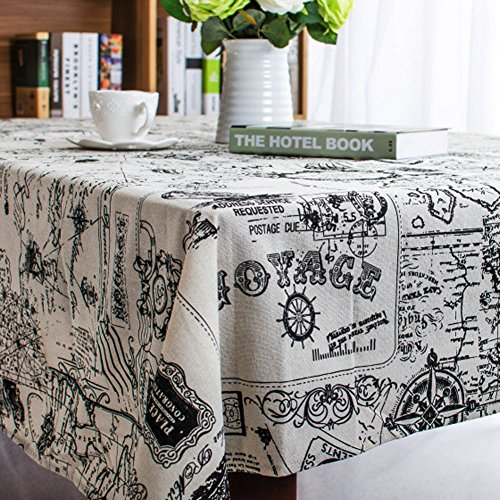 bringsine-rectangular-cotton-linen-world-map-washable-tablecloth-vintage-rectangle-dinner-picnic-tab