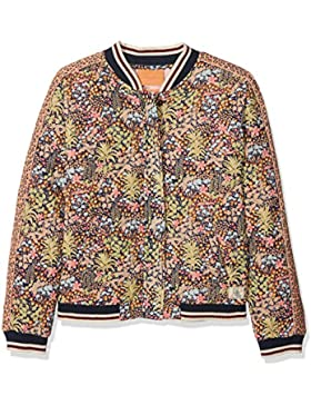 Scotch & Soda R´Belle Mädchen Jacke Quilted Bomber Jacket with Jungle Print