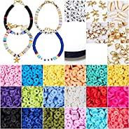 Seed Beads, Letter Beads and Pony Beads 24-Grid Craft Bead with Rope