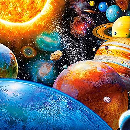 1460 Leder (Precioul DIY Diamant Malerei 5d Diamond Painting voller Stickerei Malerei Pier für Home Wand Decor gemälde Kreuzstich Universum, Planet, Saturn Venus Jupiter)