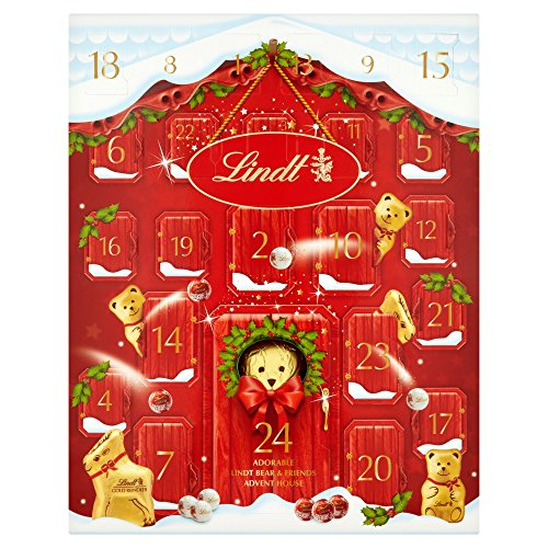 Lindt Bear Advent Calendar, 250g