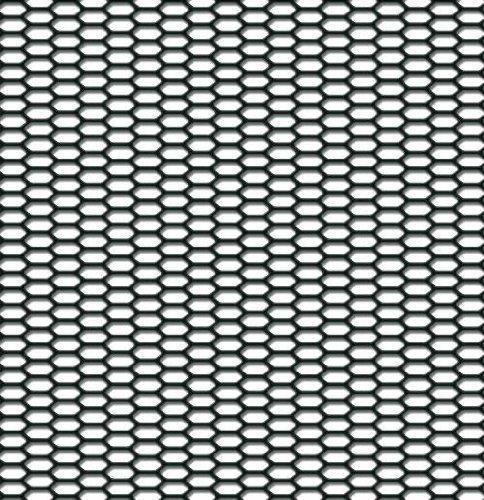 Autostyle tg2530Renngitter ABS Kunststoff Hex fein, 120x 30cm, schwarz