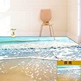 XMJR zimmer, boden, dekorationen, bad wasserdicht, kreative aufkleber, selbstklebende wand, tapeten, 3d - wand - aufkleber, aufkleber, schlafzimmer spezifikationen 100 * 100cm