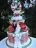 Geldgeschenk-Hochzeit,Windel-Hochzeitstorte,Windeltorte zur Hochzeit,Windeltorte