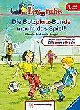 Leserabe - Die Bolzplatz-Bande macht das Spiel!: Band 3, Lesestufe 1