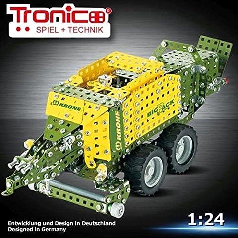 Tronico Metal Construction Model Kit, Krone Big Pack High Speed,