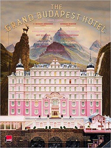 Affiche Cinéma Originale Grand Format - The Grand Budapest Hotel (Format 120 X 160 Cm Pliée)