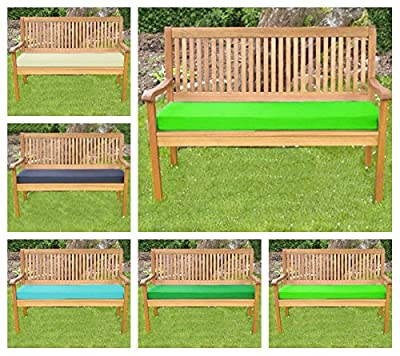 Garden Mile® Outdoor 2 Seater Bench Or Swing Seat Cushion ONLY Garden Furniture Pad produced by Garden mile® - quick delivery from UK.
