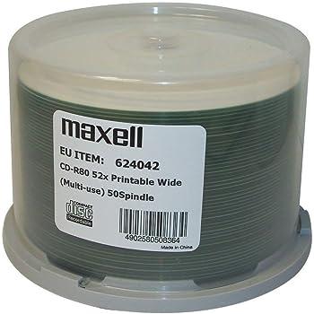 Traxdata CD-R 52x Silber Printable 50 St/ück in Cakebox