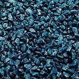Aqua Della 257-420546 Farbkies 2 kg, petrol-blau