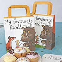 Talking Tables The Gruffalo Paper Treat Party Bags with Handles for Kids Birthday and Party, Multicolour (8 Pack)