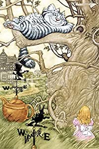 Alice au pays des merveilles : Chat du Cheshire Poster grand format 61 x 91,5 cm